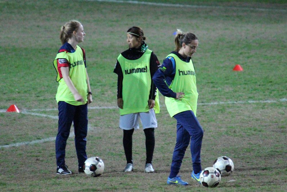 オーストラリア女子サッカーコミュニケーション