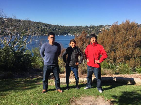 オーストラリア記念撮影