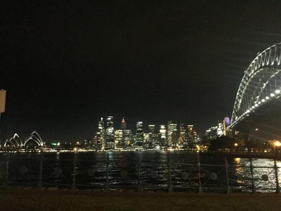 シドニー夜景