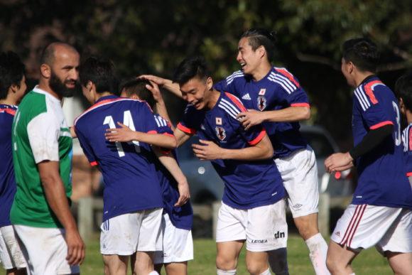 オーストラリア日本代表決勝