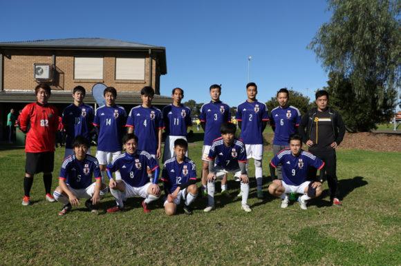 オーストラリア日本代表集合写真