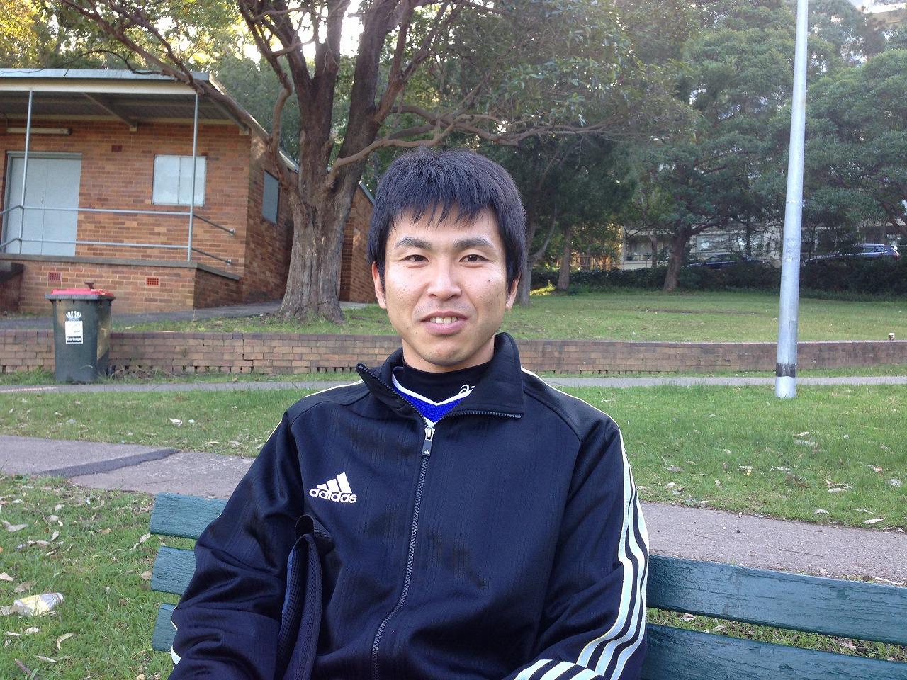 オーストラリアサッカー留学・篠塚雄一郎