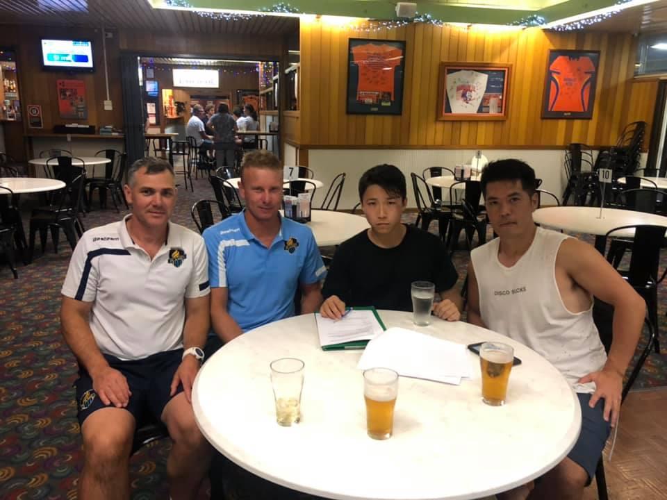 オーストラリア短期サッカートライアル