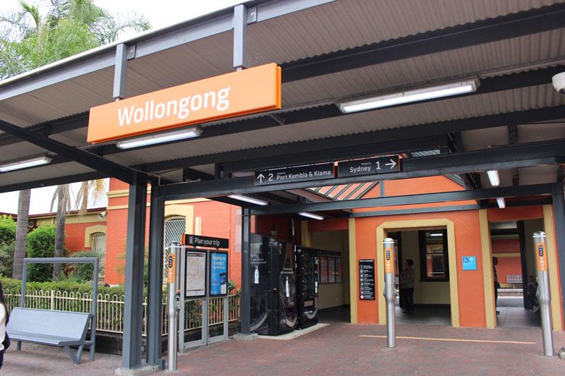 Wollongong駅
