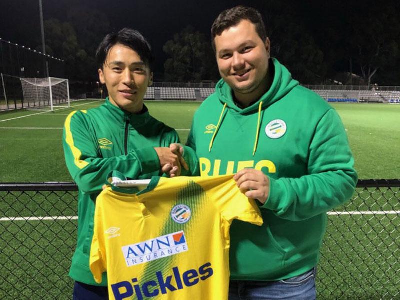 オーストラリアサッカーセミプロ契約鈴木暢